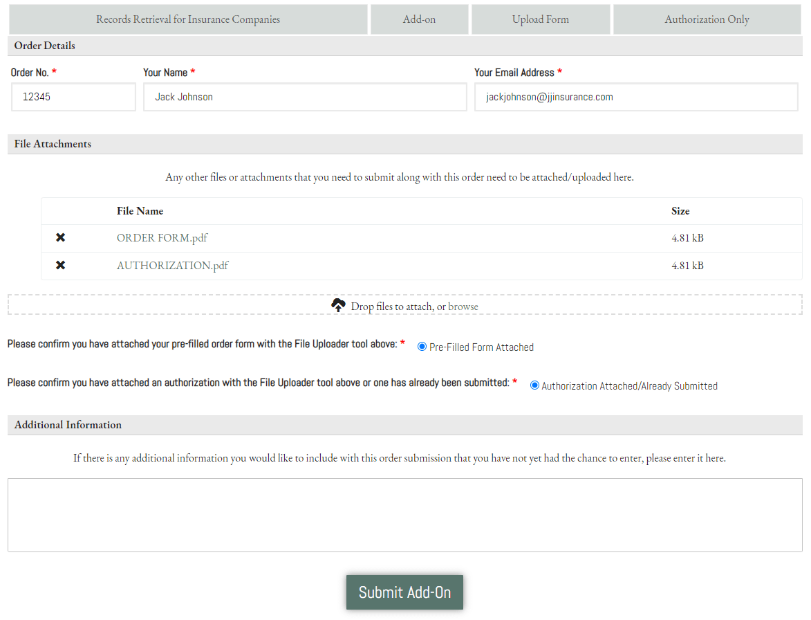 Place an Order - RR Insurance Addon -Upload - Ready to Submit (3) CROPPED
