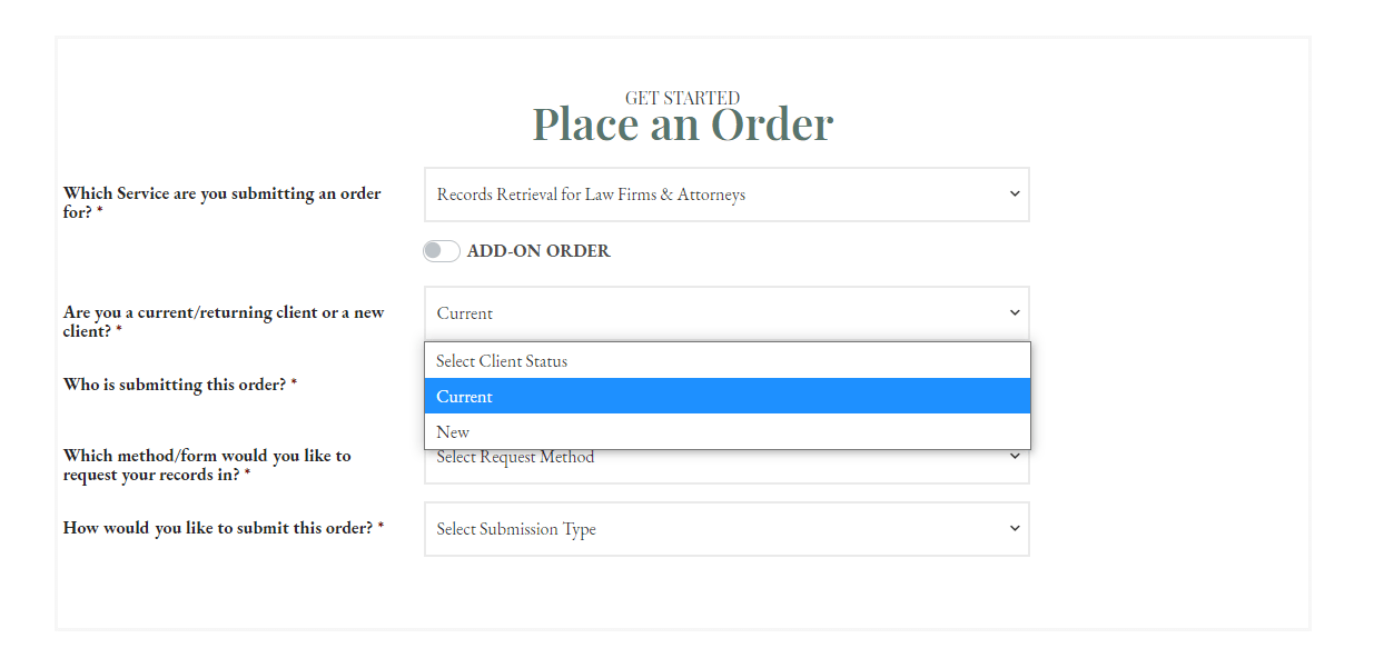 Place an Order - RR Legal - Current 1 CROPPED